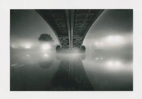 "Michael Kenna, ""river Thames... Homage To Brassai"""