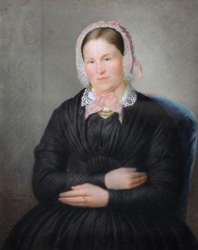Ritcher (?), Bildnisse Des Ehepaares Flatter. 1849