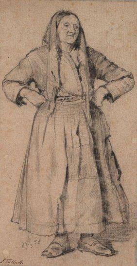 Paul Wilhelm T�bbecke, Drei Fig�rliche Studien. 18