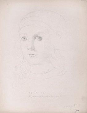 Walter Witting, Portr�t Raffaello Sanzio Di Urbino
