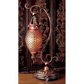 Bronze Serpentine Pendant Lamp