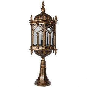 Gothic Column Lamp