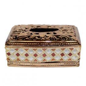 Rhinestone Tissue Box