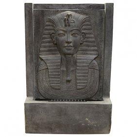 Illuminated Egyptian Fountain
