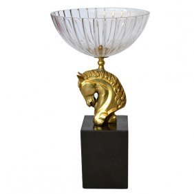 Horsehead Bowl -crystal On Mrb