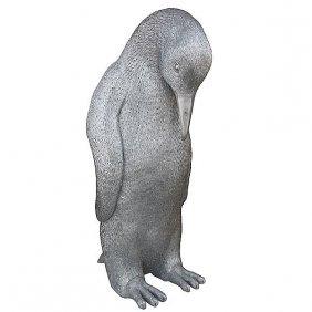 Male Penguin - Silver