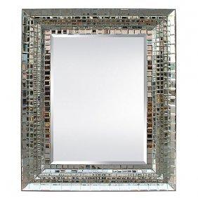 Zipper Cut Mirror