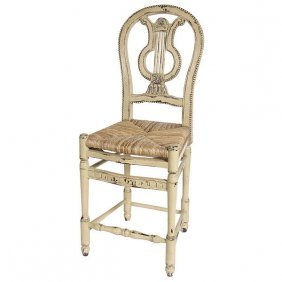 Lyre Counter Stool - Pm Free Shipping