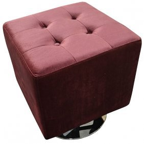 Square Swivel Stool Free Shipping