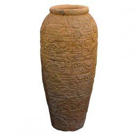 Terra Cotta Antique Vase Free Shipping