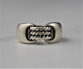 Hermes Silver Ring