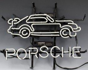 Porsche Neon Sign