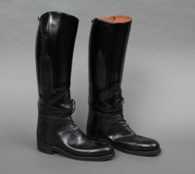 Pair Dehner's Mens Riding Boots 8 1/2