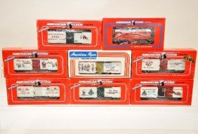 American Flyer Lionel S-Gauge Freight Cars