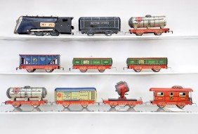Pre-War Marx Freight Set