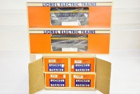 Boxed Lionel C&O Passenger Cars