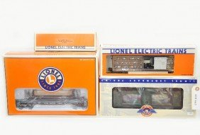 Boxed Lionel Operating Cars