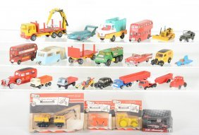 Vintage Toy Vehicle Group