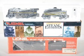 Lionel 18620 & 8603 Steam Locomotives