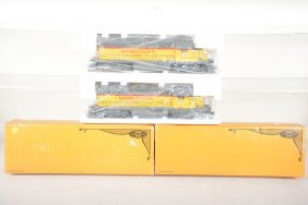 2 Lionel Limited Edition 8376 Up Sd-40 Diesels