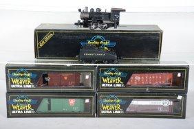Weaver Steam Freight Set