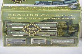 K-line 1524 Reading Company Streamliner Set