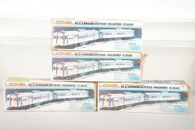 Lionel Mpc Amtrak Budd Train Set