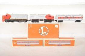 Lionel At&sf Diesel Passenger Set