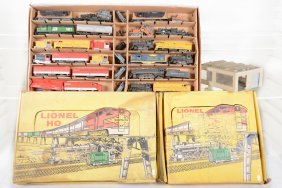 Lionel Ho Parts & Empty Box Lot