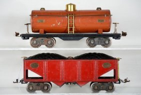 Lionel 516 & 515 Freight Cars