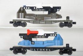 Tough Lionel 6630 & 6640 Missile Launchers