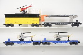 4 Lionel Late Freight Cars