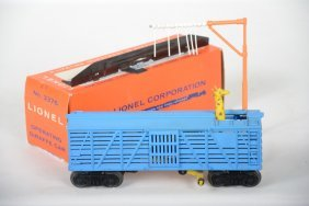 Rare Factory Error Lionel 3376 Giraffe Car