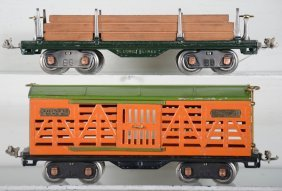 Clean Lionel 511 & 513 Freight Cars