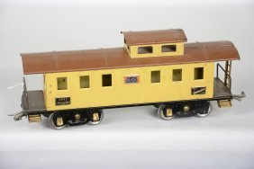 Scarce Early American Flyer 4011 Caboose