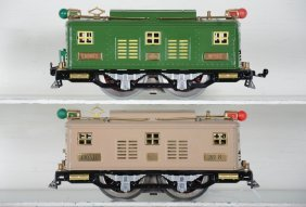 2 Redone Lionel 8 & 8e Electric Locomotives.