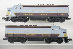 Clean Lionel 2373 Cp F3 Aa Diesels