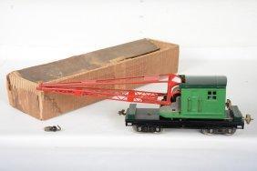 Boxed Restored Lionel 219 Crane