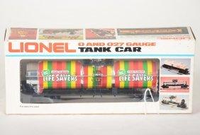 Scarce Lionel Mpc 9287 Life Savers Tank Car