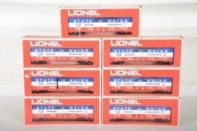 7 Lionel Mpc 9709 Som Boxcars