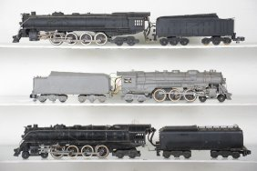 3 American Flyer Steam Loco Projects
