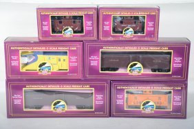 Mth Premier Long Island Freight Cars