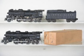 Lionel 2037 & Boxed 2018 Locomotives