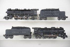 Lionel 1666 & 2026 Steam Locos