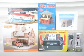 Toy Train Layout Accessories