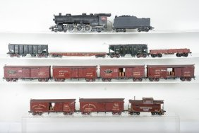 2-rail O Scale Steam Freight Set