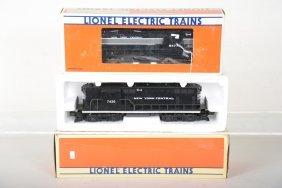 Lionel 18513 & 8477 Nyc Diesels