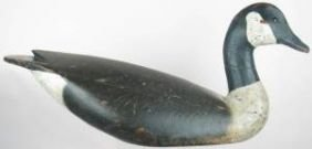 Early Ward Brothers Canada Goose Decoy