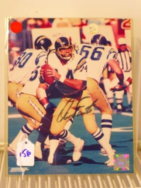 Dan Fouts 8x10 Photo Signed