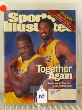 Kobe Bryant / Shaquille O'Neal Sports Illustrated